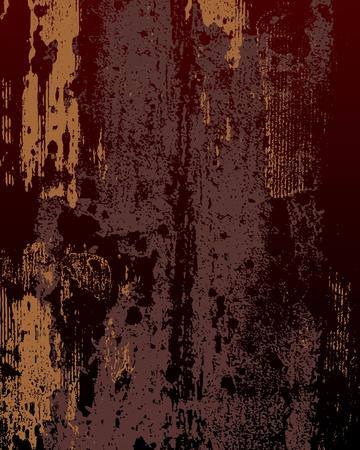oxidado: textura de metal oxidado en colores oscuros Vectores