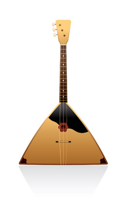 balalaika: balalaika on a white background