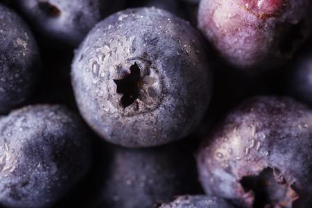 bilberries: Fresh bilberries background