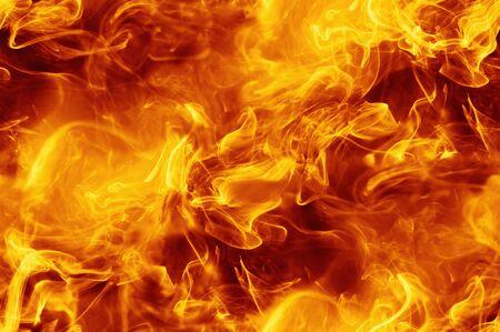 Abstract fire smoke