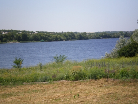 the dnieper: View on the Dnieper Bay