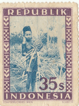wean: Indonesian postage stamp
