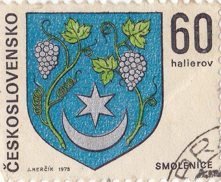 czechoslovak: Czechoslovak postage stamp Editorial