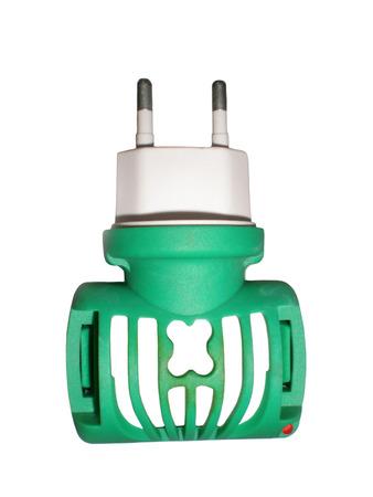 fumigador: Fumigator sobre un fondo blanco