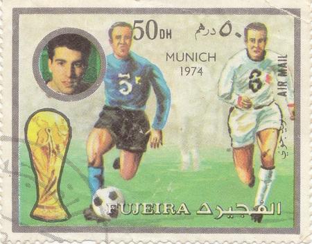 munich: Football match. Munich 1974