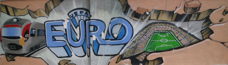 graffity: Street graffity Euro Editorial