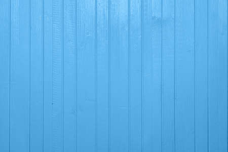 Blue painted, planked wooden textured boards background