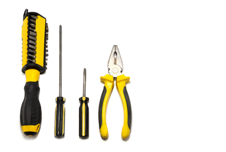 Tools for electrician.