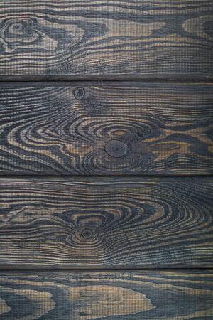 Dark Black Wood Texture