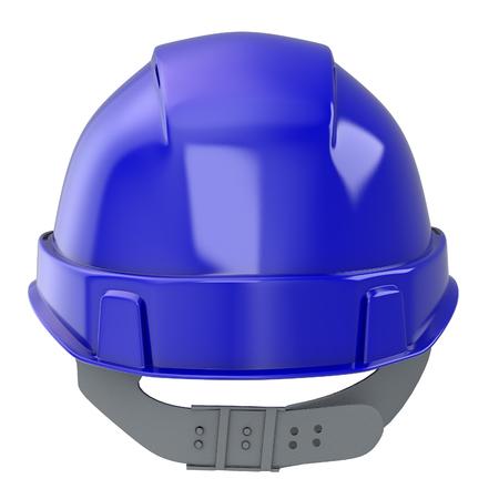 construction helmet on an isolated background. 3d illustration Reklamní fotografie