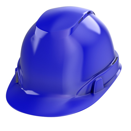 construction helmet on an isolated background. 3d illustration Banque d'images - 117679835