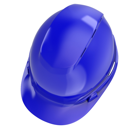 construction helmet on an isolated background. 3d illustration Banque d'images - 117679836