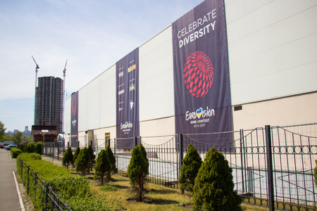 Eurovision Song Contest 2017 located on Kiev Editorial