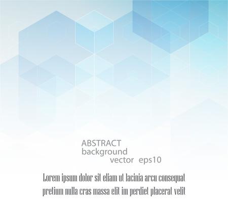 Vector Zusammenfassung Geometrischen Hintergrund. Vorlage Broschüre ...