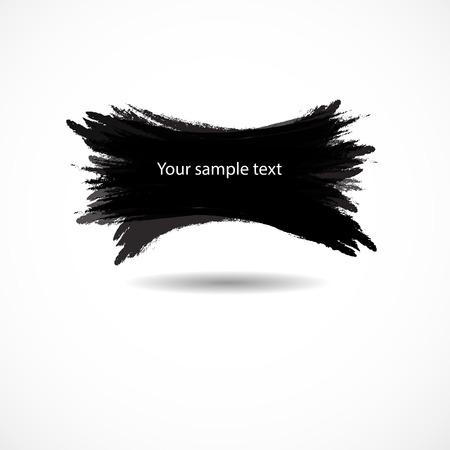 Vector illustration banner Design vector brush Illustration