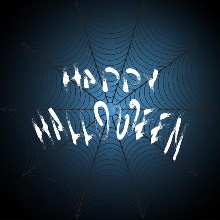cobwebby: Dark Vector illustration for Halloween