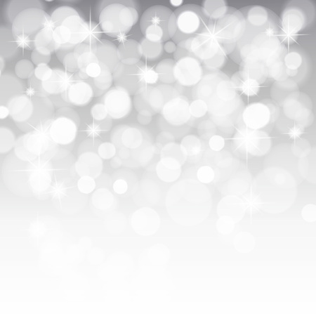 glittery: glittery lights silver abstract Christmas background