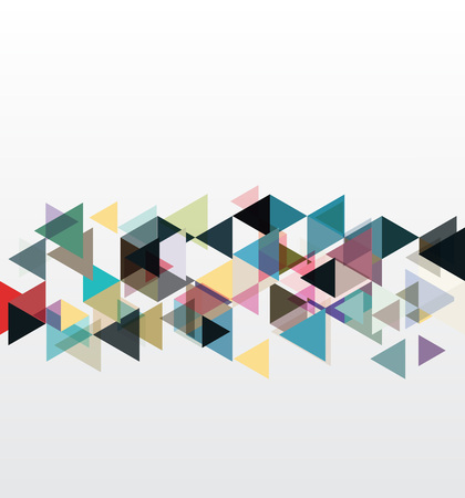 pixelart: Abstract geometric backgrounds.Colored triangles, design element vector eps10