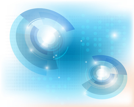 Technology background.Abstract blue technology vector background eps10