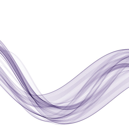 Abstract background, transparent waved lines for brochure, website, flyer design. Blue smoke wave.
