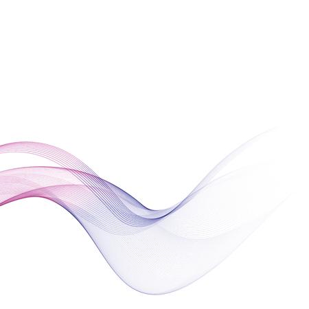 Abstract background, color flow waved lines for brochure, website, flyer design. Transparent smooth wave Vektorové ilustrace