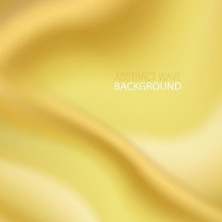 Goldfarbene Acrylfarbe. Vektor-Illustration Goldfarbener Hintergrund