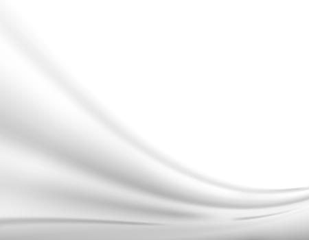 Fondo moderno astratto dell'onda grigia, disposizione fresca futuristica. Illustrazione vettoriale