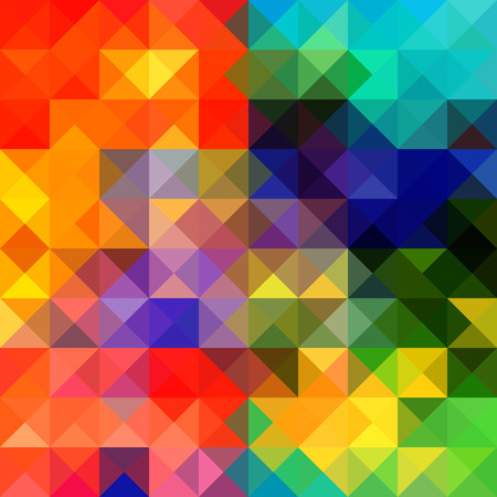 Multicolor geometric triangular . Gradient background. Vector
