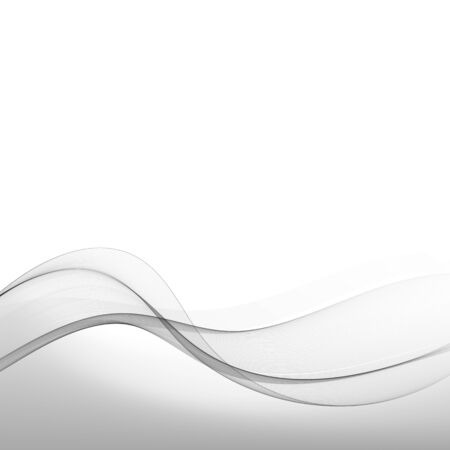 Abstract gray wave modern background futuristic cool layout. Vector illustration Illusztráció