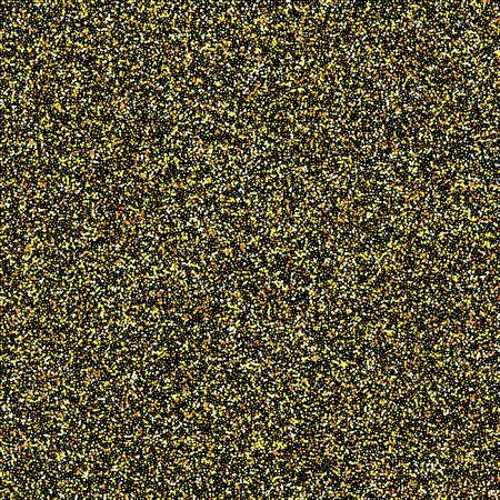Gold glittery texture. Vector glitter golden background