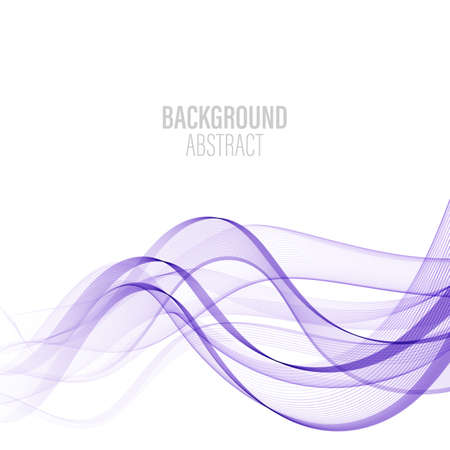 Smooth abstract border wave soft background modern futuristic cool layout. Vector illustration