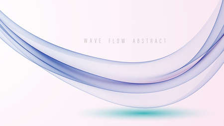 Abstract swoosh smooth border line background. Vector illustration