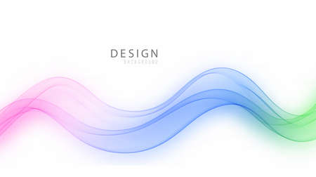 Vector color,transparent wave water.Design element for your project.