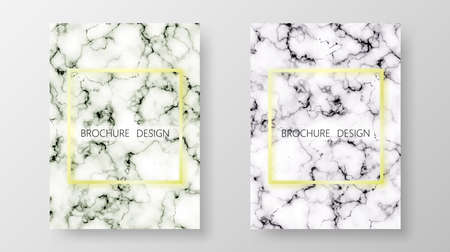 Marble texture background. Business cover template background. Set background. Vector