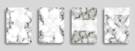 Marble texture background. Business cover template background. Set background. 矢量图像