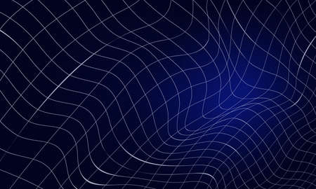 Abstract dark background with lines. Connection structure.Geometric background