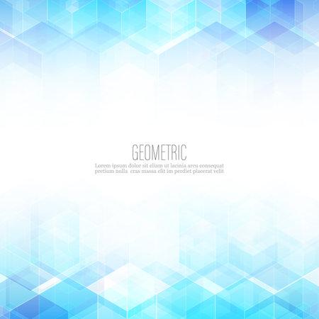 Abstract science Background. Hexagon geometric design. Vector Иллюстрация