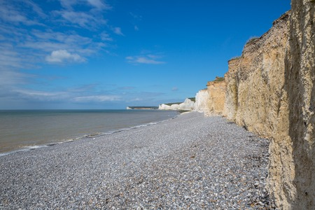 head stones: Seven sisters cliffs in Sussex. Took this shot when visiting Beachy Head and went down on the beach.