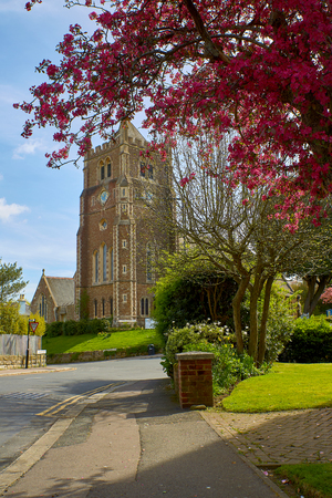 Hastings,England on the 10 April 2017: Christ Church Blacklands