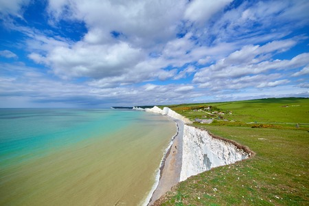 Seven sisters cliffs in Sussex. Took this shot when visiting Beachy Head and went down on the beach.