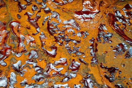 Rusty Texture of a Metal close up background