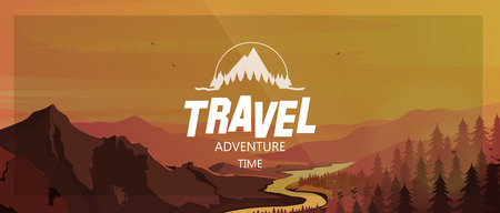 Trip to World. Travel to World.Travel banner. Travelling illustration. Vector Illustration for your application , project.