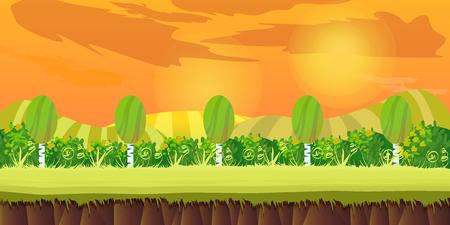 sunset hills Game Background