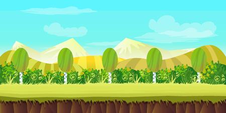 hills game background