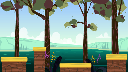Background for games mobile applications and computers. Illustration