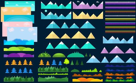 Universal Flat Game Constructor Illustration
