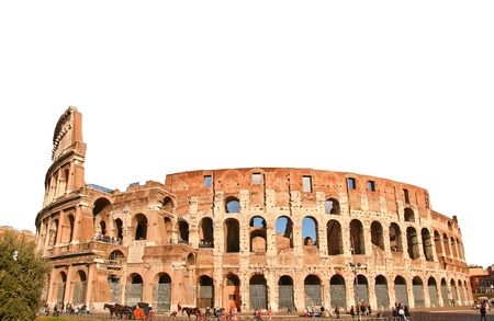 Colloseo Rom im Oktober Arts Italien photo