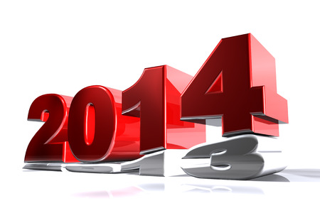 New 2014 year pushing 2013