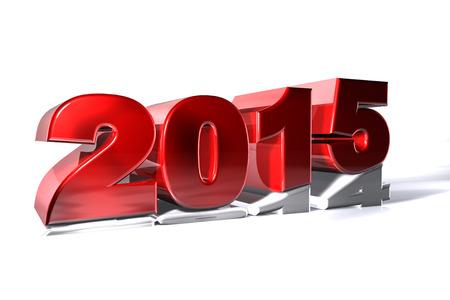 New 2015 year pushing 2014