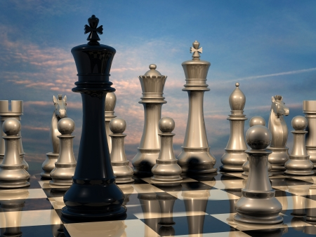 Chess: end of battle photo